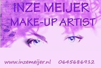 Inze Meijer – make-up artist